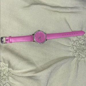 Fushia watch